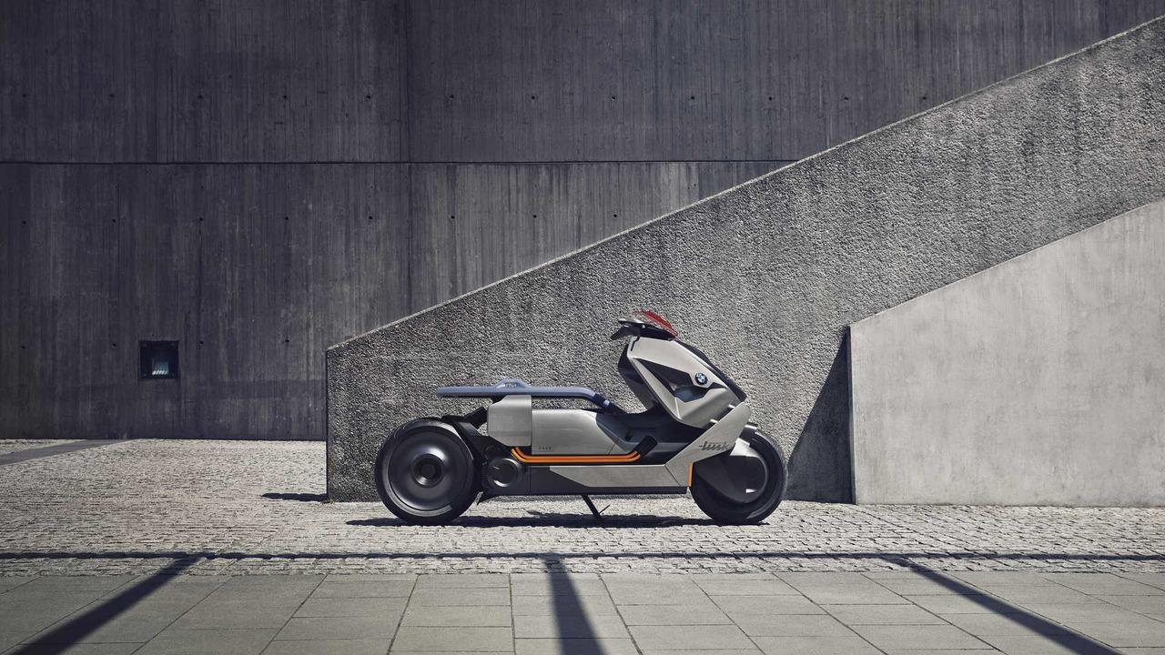 БМВ представила концепт-байк Motorrad Concept Link
