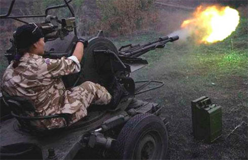 Донецк обстрелян из«Градов», ДФС снова обесточена— результат перемирия