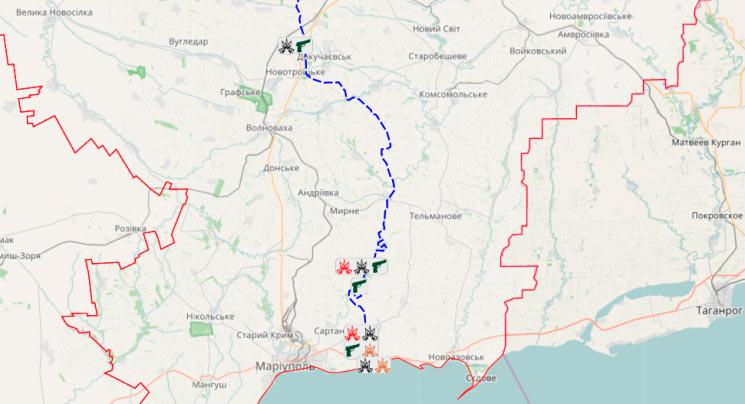 Подразделения ВСУ обстреляли западную часть Донецка— Донбасс