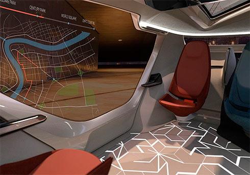 NEVS представил беспилотный автомобиль будущего