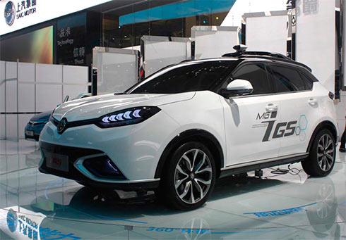 ВКитайской республике показали дистанционное управление автомобилем посети 5G
