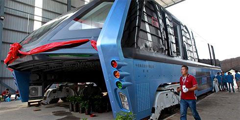Проект, создававший «автобус будущего» вКитайской народной республике признан аферой