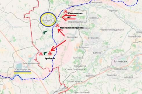 Бои за Луганщину. Что стоит за попыткой прорыва боевиков на Попасную