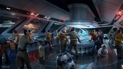Disney создаст отель, где посетители будут ощущать себя на корабле из «Звёздных войн»