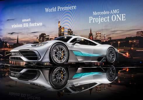 Компания Mercedes-AMG официально представила гиперкар Project One