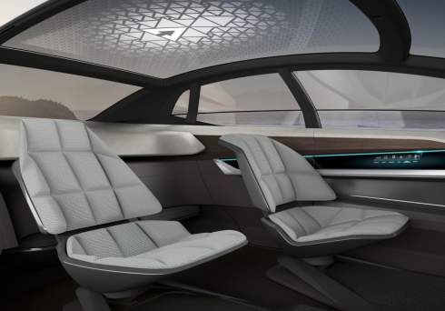 Audi Aicon: пятиметровый автомобиль без руля, педалей и подушек безопасности