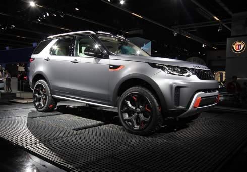 Самый внедорожный Land Rover Discovery оснастили 525-сильным V8