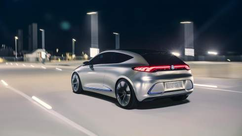 Мини-электрокару Mercedes-Benz добавили виртуальную решетку радиатора