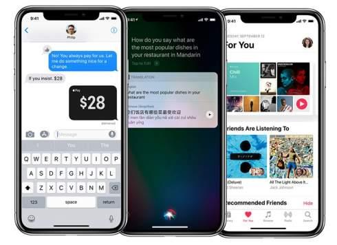 iPhone X — первый смартфон Apple с OLED-дисплеем