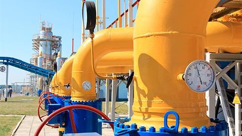 Украина увеличила транзит газа начетверть