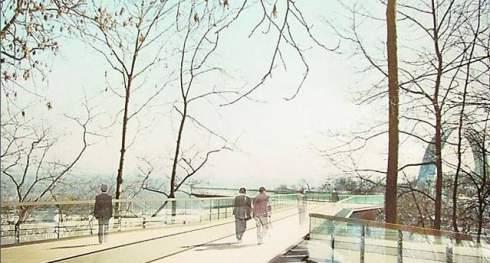 В этом году в Киеве начнется строительство пешеходного «легкого» моста