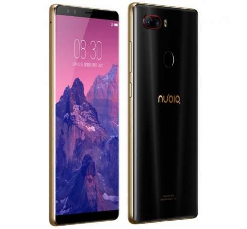 Nubia Z17S: смартфон с четырьмя камерами и 8 Гбайт ОЗУ