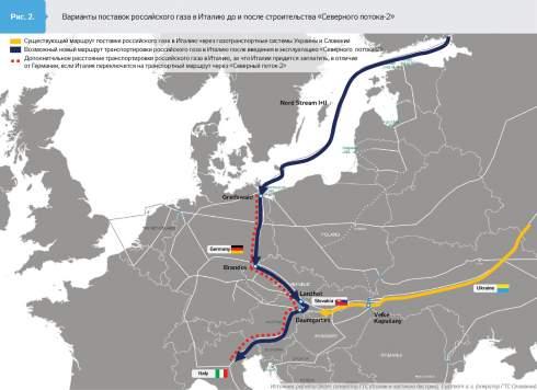 Итальянская Snam S.p.A и словацкая Eustream a.s. готовы взять в лизинг часть украинской ГТС