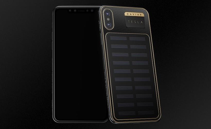 В Российской Федерации создали самозаряжающийся iPhone XTesla