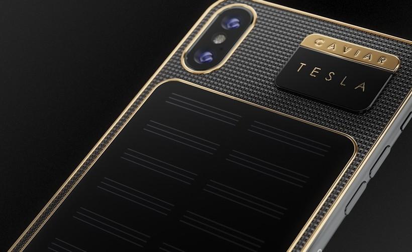 В Российской Федерации спроектирован заряжающийся отсолнечного света iPhone XTesla