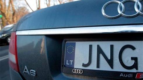 Заввоз в государство Украину авто наеврономерах взялись литовские пограничники