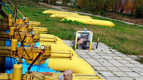 Украина уменьшила запасы газа вПХГ до16,71 млрд кубов