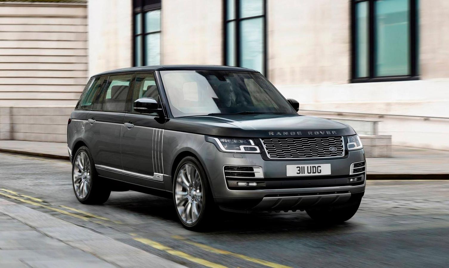 Компания Range Rover презентовала новый полноприводный внедорожник SVAutobiography