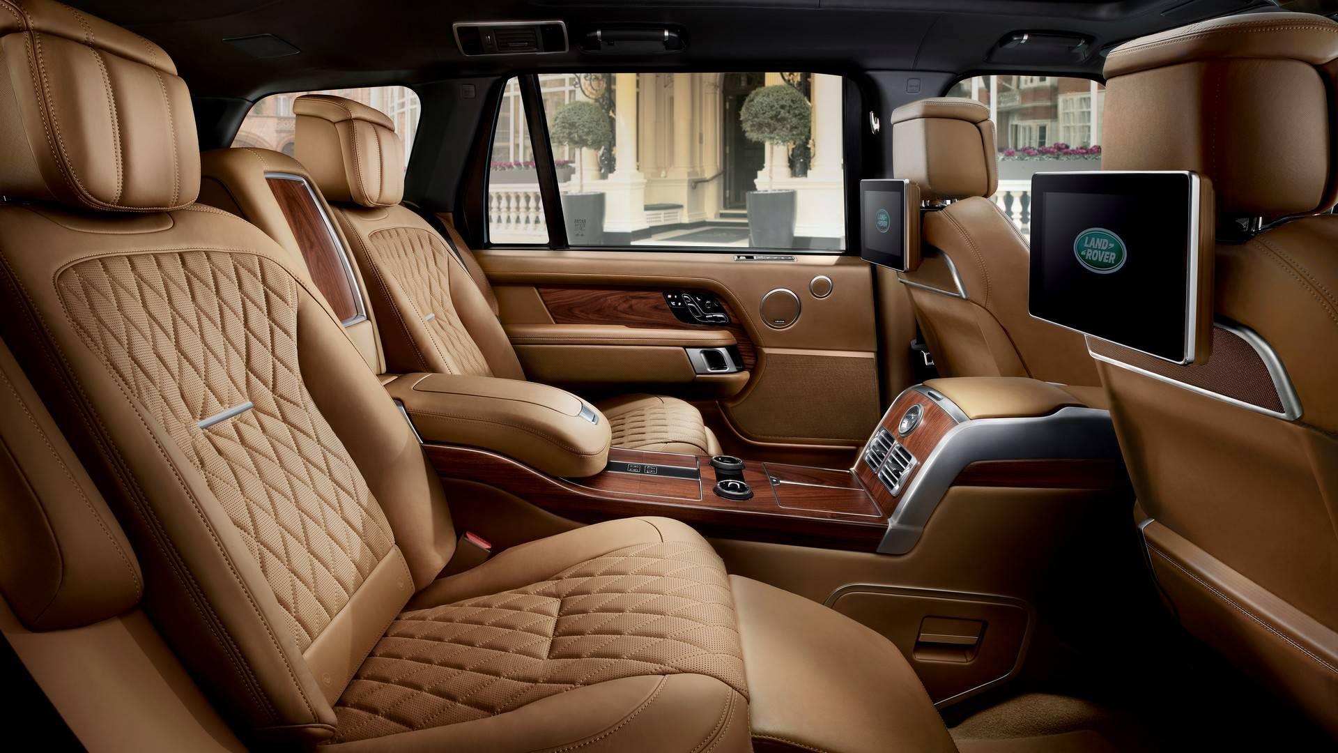 Внедорожник Range Rover представлен всамой роскошной версии