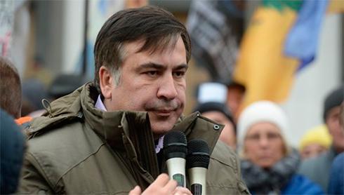 Саакашвили объявил, что Порошенко отдал приказ наего арест