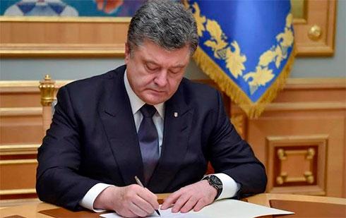 Порошенко: Украине предстоит референдум овступлении вНАТО иЕС