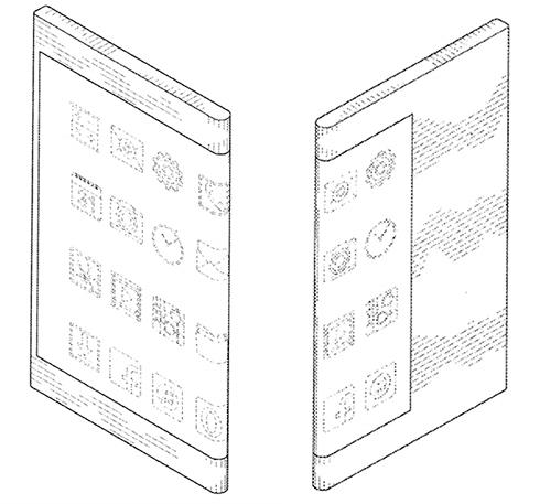 Компания Самсунг запатентовала смартфон сдвусторонним дисплеем