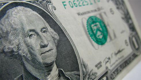 Руб. настарте торгов выигрывает удоллара иевро