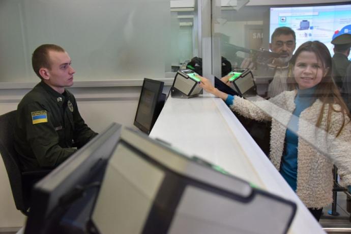Сянваря вКиеве заработает система фиксации биометрических данных иностранцев