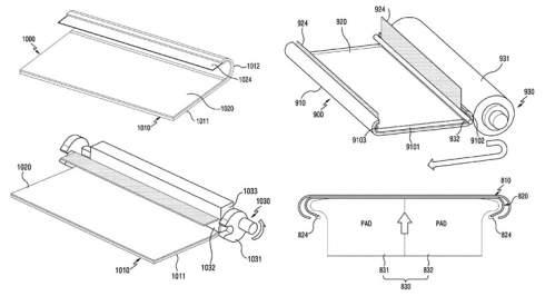 Samsung раздумывает над смартфоном с полностью закруглённым дисплеем