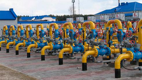 Украина понижает импорт газа— Теплая зима
