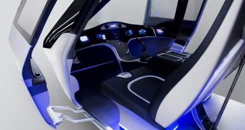 Американский производитель вертолетов Bell Helicopter представил концепт летающего такси