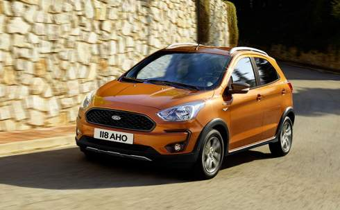 Самый маленький Ford обновился и стал вседорожником