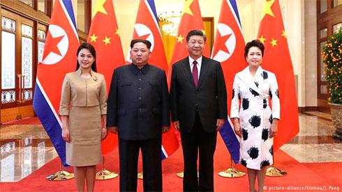 Руководителя Китайская народная республика иКНДР провели переговоры встолице Китая