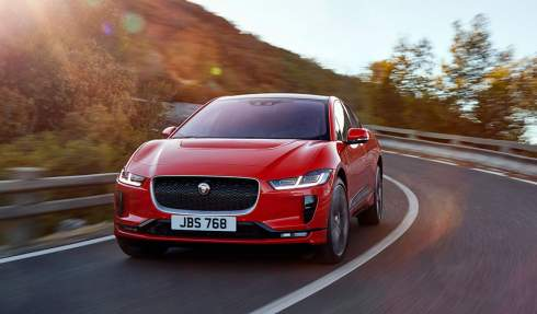 Компания Jaguar представила электрический кроссовер I-Pace