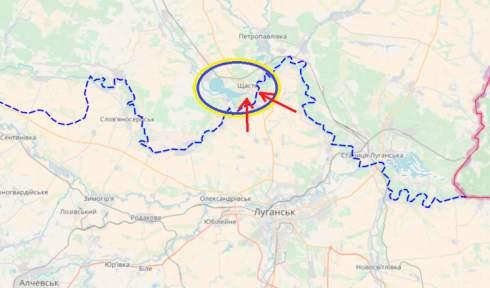 Обострение на Донбассе: Что стоит за обстрелами Счастья
