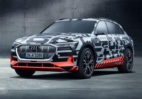 Audi привезла в Женеву почти серийный электрокроссовер