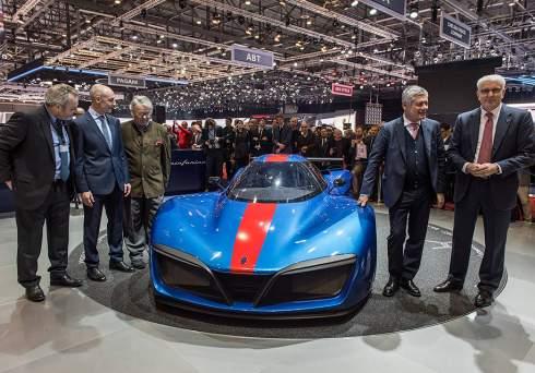 Pininfarina запустит в серию водородный суперкар