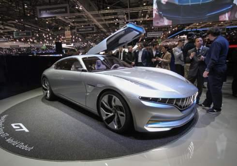 Огромное купе Pininfarina оказалось 802-сильным гибридом с микротурбиной