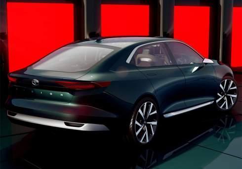 Tata представила прототип праворульного премиального седана с электрической силовой установкой