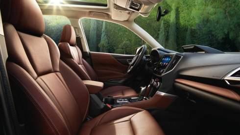 Subaru Forester получил новую платформу и двигатель