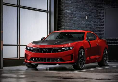 Chevrolet Camaro получил новый дизайн и оборудование после обновления