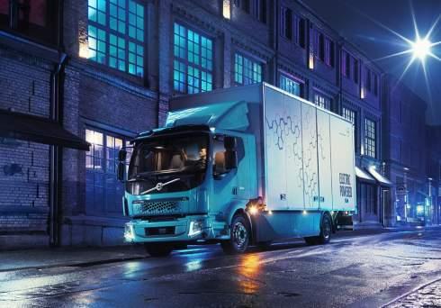Представлен первый электрический грузовик Volvo