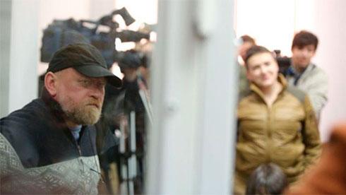 Савченко попросила В.Путина  осодействии обмену пленными вДонбассе