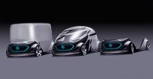 Компания Mercedes-Benz представила прототип беспилотного фургона будущего под названием Vision Urbanetic