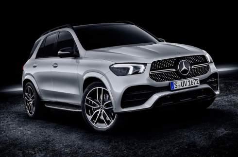 Mercedes-Benz показал кроссовер GLE нового поколения