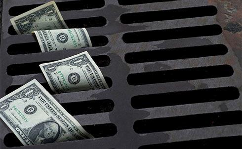 Чистый отток капитала из Российской Федерации увеличился до31,9 млрд долларов