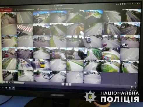 Под Киевом заработала система видеонаблюдения с распознаванием номеров авто