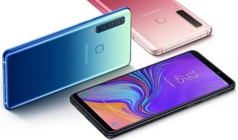 Samsung представила первый смартфон с четырьмя основными камерами