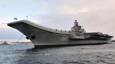 Кран упал на летную палубу авианосца «Адмирал Кузнецов», плавучий док в Мурмансеке затонул
