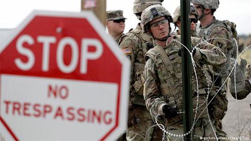 Миграционный кризис: Трамп позволил  военным стрелять внарушителей границы
